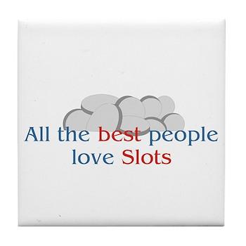 SLots Tile Coaster