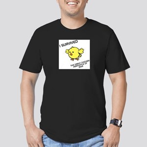 The Great Chicken Kerfuffle of 2012 Men's Fitted T