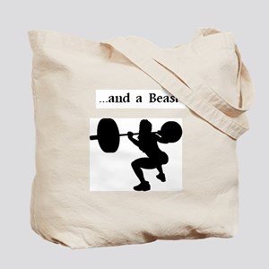 beauty and beast fitness Tote Bag