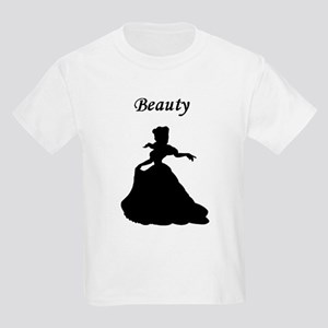 beauty and beast center Kids Light T-Shirt