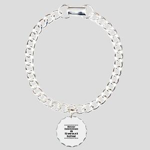 Never Underestimate A Sw Charm Bracelet, One Charm