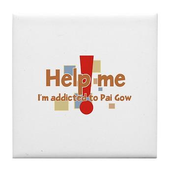 Pai Gow Tile Coaster