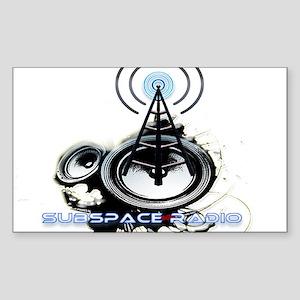 SSR Logo Sticker (Rectangle)