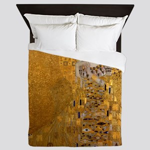 Klimt Portrait of Adele Bloch-Bauer Queen Duvet