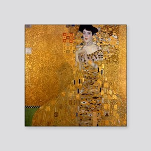 Klimt Portrait of Adele Bloch-Bauer Square Sticker
