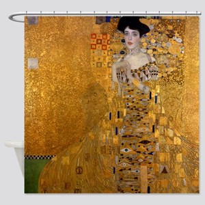 Klimt Portrait of Adele Bloch-Bauer Shower Curtain