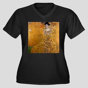 Klimt Portrait of Adele Bloch-Bauer Women's Plus S