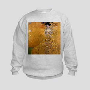 Klimt Portrait of Adele Bloch-Bauer Kids Sweatshir