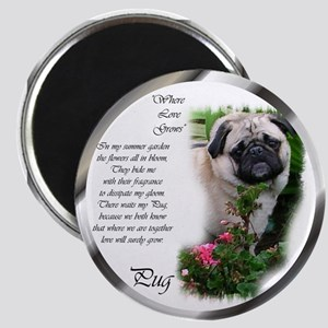 "Pug Gifts 2.25"" Magnet (10 pack)"