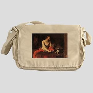 Caravaggio St Jerome Messenger Bag