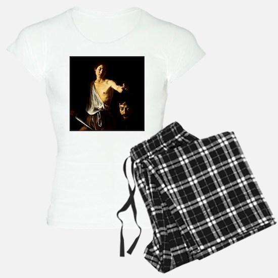 Caravaggio David Goliath Pajamas