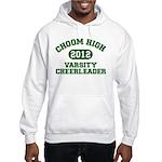 Choom High Varsity Cheerleader Hooded Sweatshirt