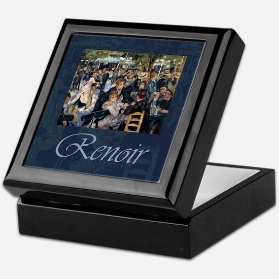 Renoir Le Moulin de la Galette Keepsake Box