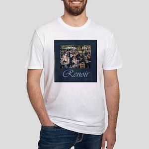 Renoir Le Moulin de la Galette Fitted T-Shirt