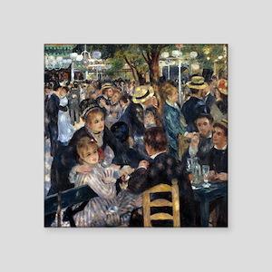 """Renoir Le Moulin de la Galette Square Sticker 3"""" x"""