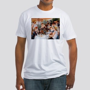 Renoir Luncheon Of The Boating Party Fitted T-Shir