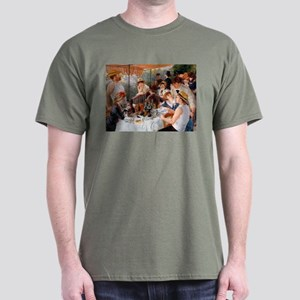 Renoir Luncheon Of The Boating Party Dark T-Shirt