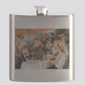 Renoir Luncheon Of The Boating Party Flask