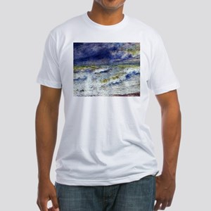 Renoir Seascape Fitted T-Shirt