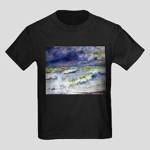 Renoir Seascape Kids Dark T-Shirt