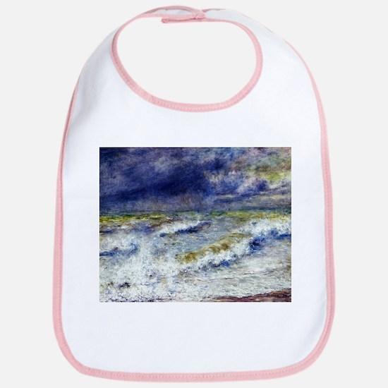 Renoir Seascape Bib