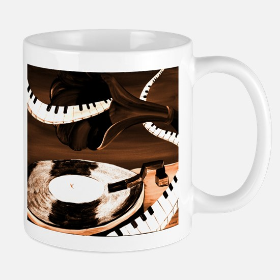 Chocolate Music Mug