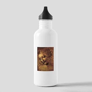 Leonardo Da Vinci La Scapigliata Stainless Water B