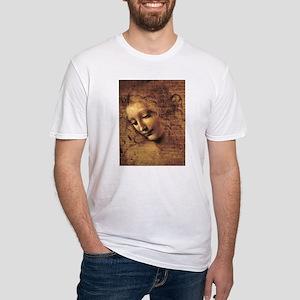Leonardo Da Vinci La Scapigliata Fitted T-Shirt