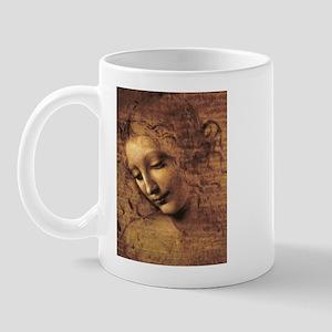 Leonardo Da Vinci La Scapigliata Mug