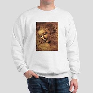 Leonardo Da Vinci La Scapigliata Sweatshirt
