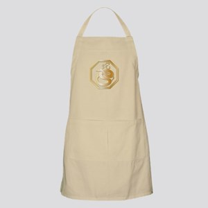 Gold tone Year of the Snake Apron