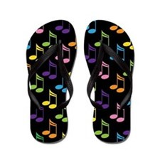 Cute Marching Band Music Gift Flip Flops