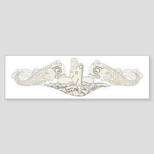 Submarine Warfare Sticker (Bumper)