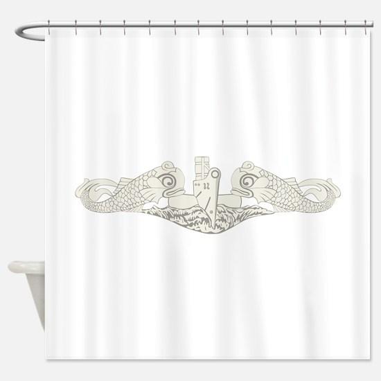 Submarine Warfare Shower Curtain