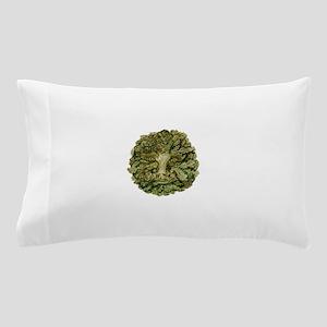 Green Man Pillow Case