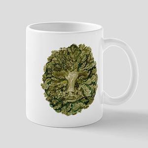 Green Man Mug