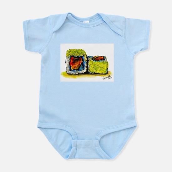 Sushi Couple 3 Infant Bodysuit