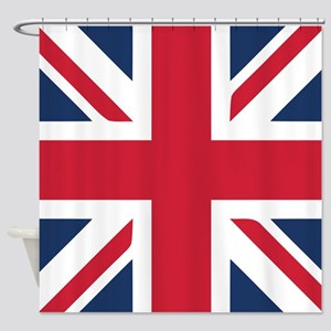 Classic Union Jack Shower Curtain