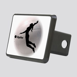 ispike Volleyball Rectangular Hitch Cover