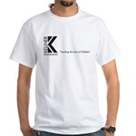 Kellner Foundation Logo White T-Shirt
