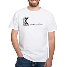 Kellner Foundation Logo White T-Shirt
