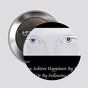 "HypnoTribe Happiness Double Bind 2.25"" Button"