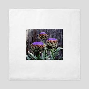 Bloomin Artichokes Queen Duvet