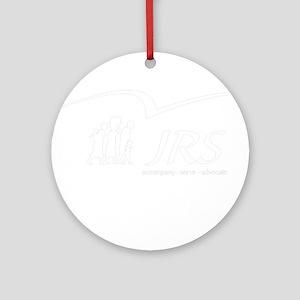 JRS/USA transparent logo Ornament (Round)