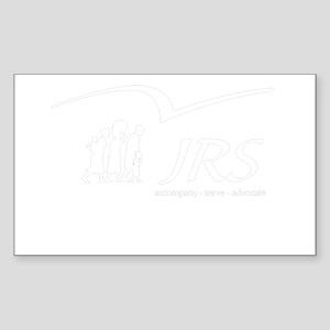 JRS/USA transparent logo Sticker (Rectangle)