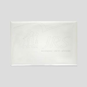 JRS/USA transparent logo Rectangle Magnet