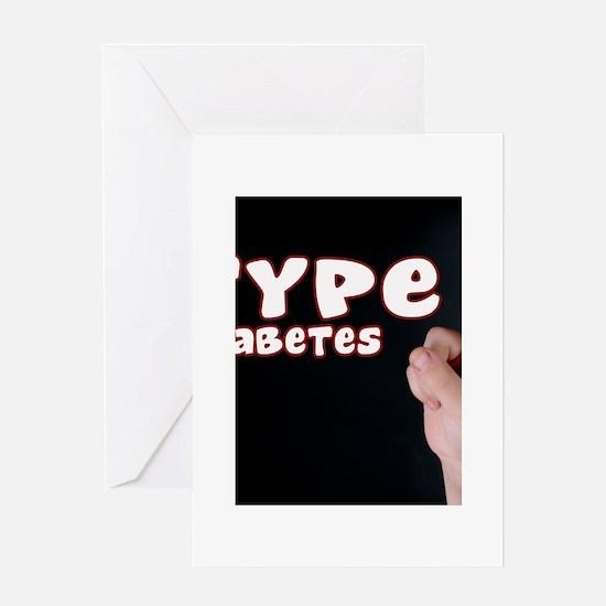 Type 1 Diabetes Greeting Card