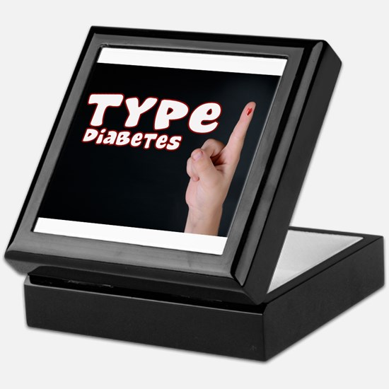 Type 1 Diabetes Keepsake Box