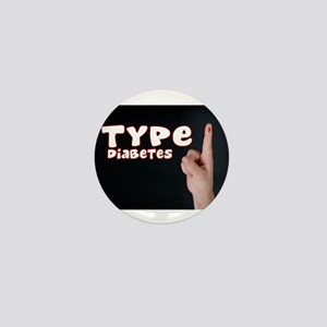 Type 1 Diabetes Mini Button