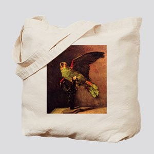 Van Gogh The Green Parrot Tote Bag